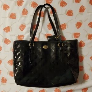 Coach hang bag